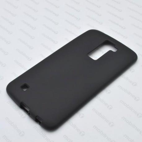 Matné gumené puzdro LG K10, čierne