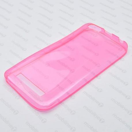 Gumené puzdro Lenovo Vibe C, ružové, anti-moisture