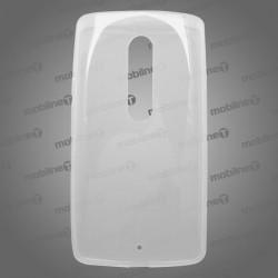 Gumené puzdro Moto X Play, priehľadné, anti-moisture