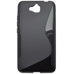 Gumené puzdro S-Line Huawei Y6 Pro, čierne