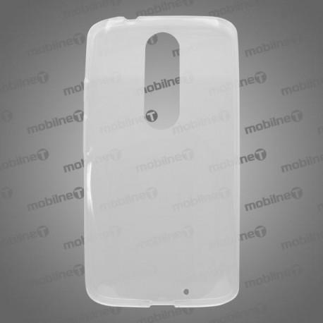 Gumené puzdro Moto X Force, priehľadné, anti-moisture