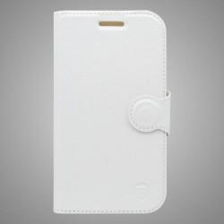 Bočné knižkové puzdro Samsung Galaxy J5 2016, biela