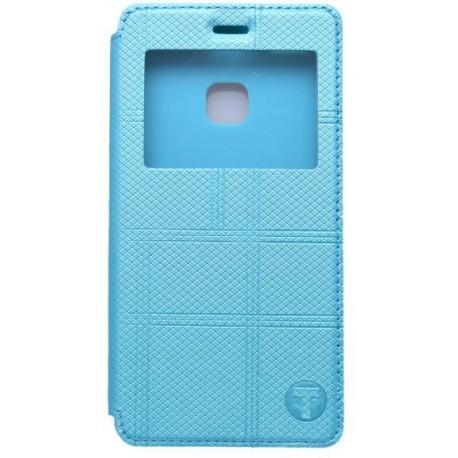 Knižkové puzdro s okienkom Huawei P9 Lite, modré