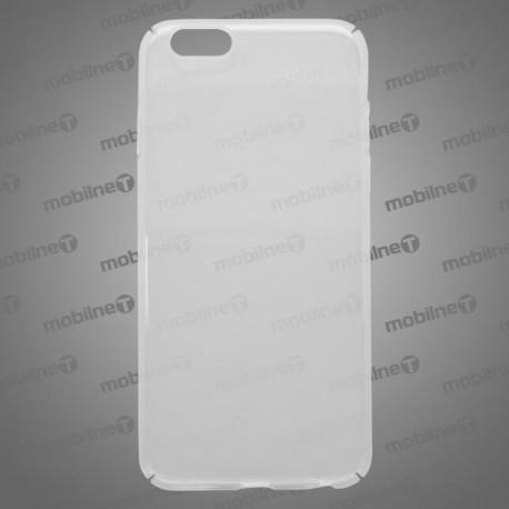 Plastové puzdro iPhone 6, priehľadné, pružné hrany