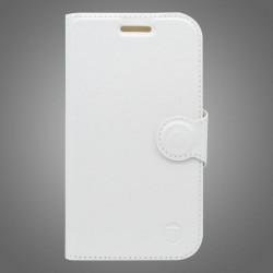 Bočné knižkové puzdro Lenovo Vibe S1 Lite, biele