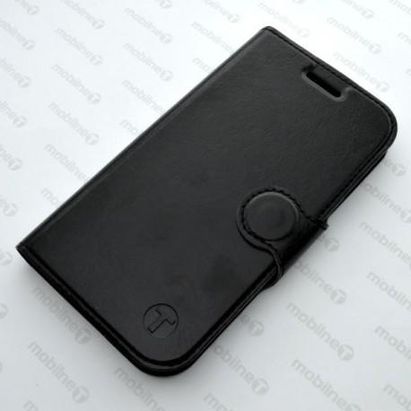 Bočné knižkové puzdro Sony Xperia E5, čierne