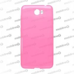 Gumené puzdro Huawei Y5 II, ružové, anti-moisture