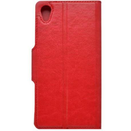 Bočné knižkové puzdro Sony Xperia X, červené