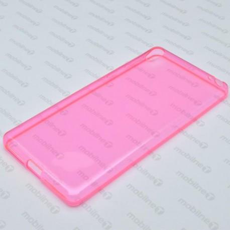 Gumené puzdro Sony Xperia E5, ružové, anti-moisture