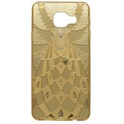 Vzorované puzdro Golden Pleasure Samsung Galaxy A3 2016, zlaté