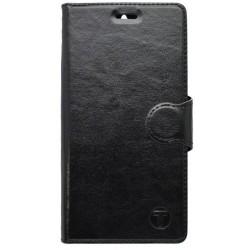 Knižkové puzdro bočné Sony Xperia M5, čierne