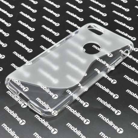 Gumené puzdro S-Line Apple iPhone 7, transparentné