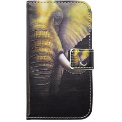Vzorované knižkové puzdro Huawei Y6 Pro, slon