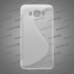 Gumené puzdro S-Line Samsung Galaxy J7 2016, transparentné