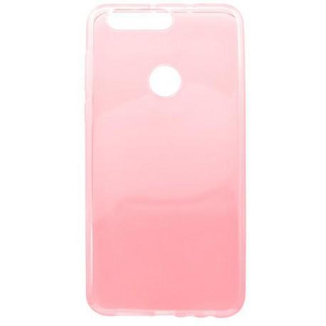 Gumené puzdro Huawei Honor 8, ružové, anti-moisture