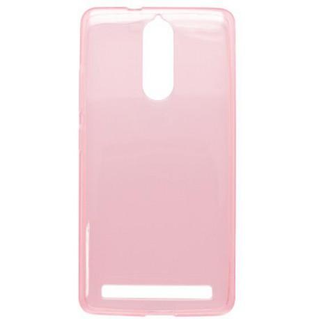 Gumené puzdro Lenovo Vibe K5 Note, ružové, anti-moisture