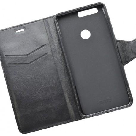 Bočné knižkové puzdro Huawei Honor 8, čierne