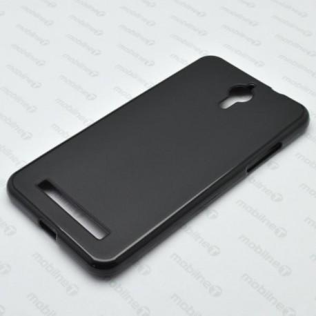 Matné gumové puzdro Coolpad Porto S, čierne