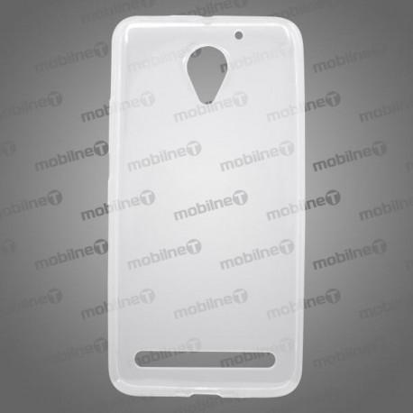 Gumené puzdro / obal Lenovo Vibe C2, priehľadné, anti-moisture