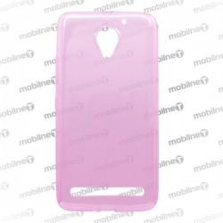Gumené puzdro / obal Lenovo Vibe C2, ružové, anti-moisture
