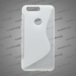 Gumené puzdro S-line Huawei Honor 8, transparentné