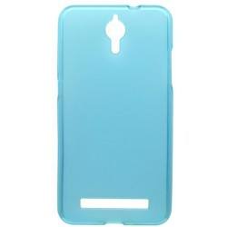 Matné gumové puzdro Coolpad Porto S, modré