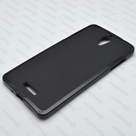 Matné gumové puzdro Coolpad Modena 2, čierne