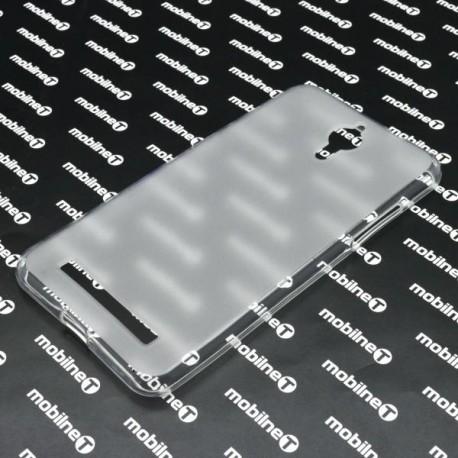 Matné gumové puzdro Coolpad Porto S, transparentné