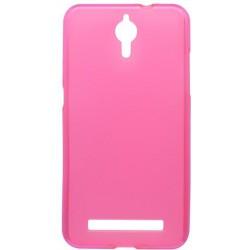 Matné gumové puzdro Coolpad Porto S, ružové