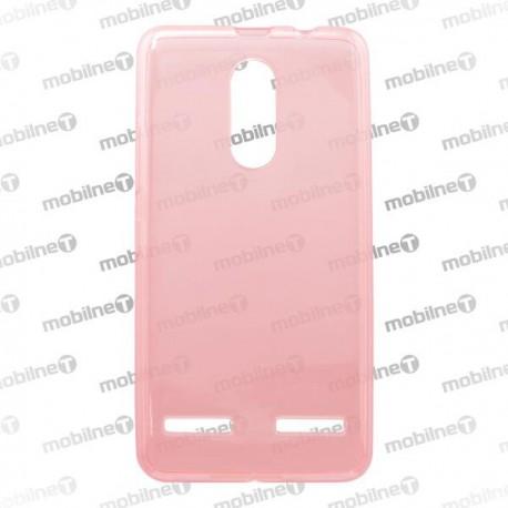 Gumené puzdro (obal) Lenovo K6, K6 Power, ružové, anti-moisture