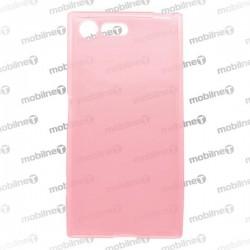 Gumené puzdro / obal Sony Xperia X Compact, ružové, anti-moisture