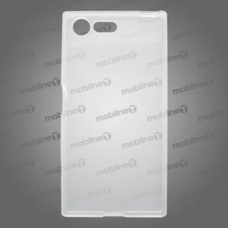 Gumené puzdro / obal Sony Xperia X Compact, priehľadné, anti-moisture