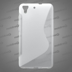 Gumené puzdro (obal) S-Line Huawei Y6 II, transparentné