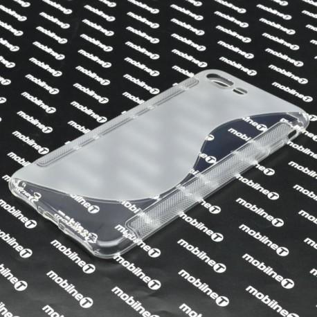 Gumené puzdro / obal S-Line iPhone 7 Plus, transparentné