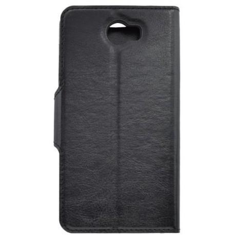 Bočné knižkové puzdro Huawei Y6 II Compact, čierne