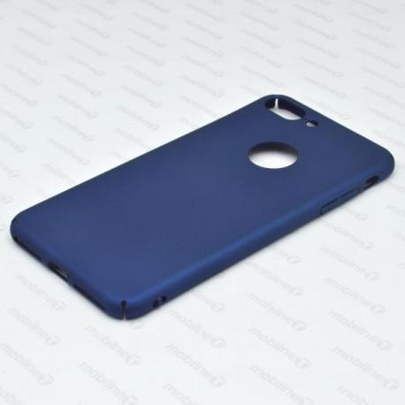 Hladké plastové puzdro iPhone 7 Plus, modré