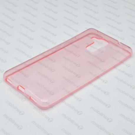Gumené puzdro / obal Huawei Honor 7 Lite, ružové, anti-moisture