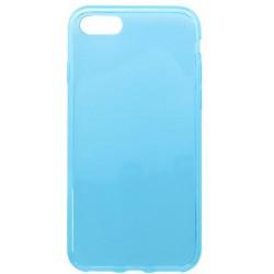 Gumené puzdro iPhone 7, svetlomodré, anti-moisture