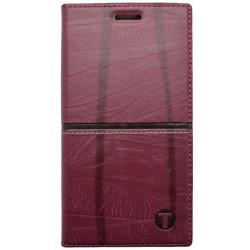 Knižkový obal / puzdro Luxury iPhone 7, bordové