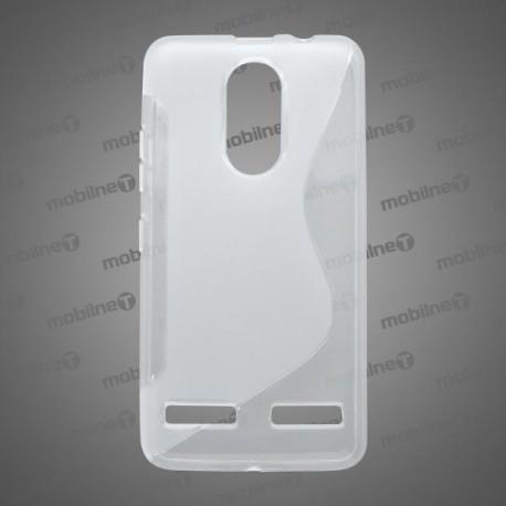 Gumené puzdro S-Line Lenovo K6, K6 Power, transparentné