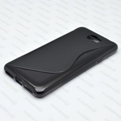 Gumené puzdro / obal S-Line Huawei Y6 II Compact, čierne