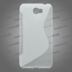Gumené puzdro / obal S-Line Huawei Y6 II Compact, transparentné
