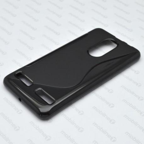 Gumené puzdro S-line Lenovo K6 Power, čierne