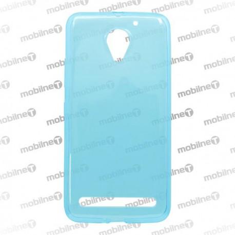 Gumené puzdro / obal Lenovo Vibe C2, modré, anti-moisture