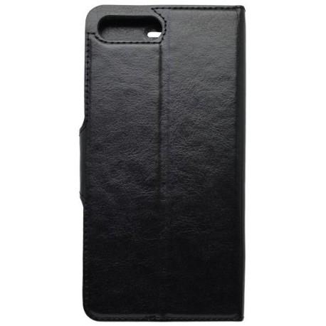 Bočné knižkové puzdro / obal iPhone 7 Plus, čierne