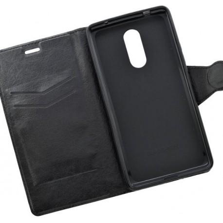 Bočné knižkové puzdro Lenovo K6 Note, čierne