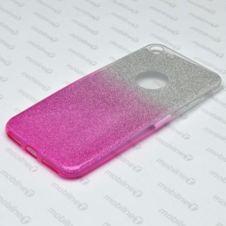 Farebné trblietavé puzdro iPhone 7, ružové