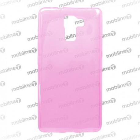 Gumené puzdro / obal Huawei Honor 7, ružové, anti-moisture