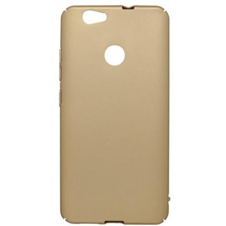 Plastové puzdro Huawei Nova, zlaté, hladké