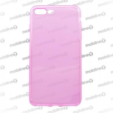Silikónové puzdro / obal iPhone 7 Plus, ružové, anti moisture - nelepivé
